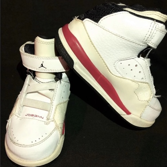 outlet store b0477 48b73 Jordan Other - Air Jordan Size 7C 7 Flight SC-1 (TD)Varsity